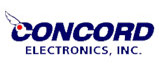 logo for concorn electronics